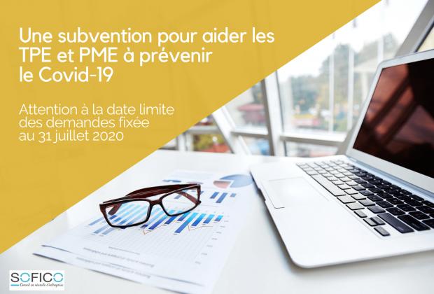 Une subvention pour aider les TPE et PME à prévenir le Covid-19 au travail | 29 juillet 2020