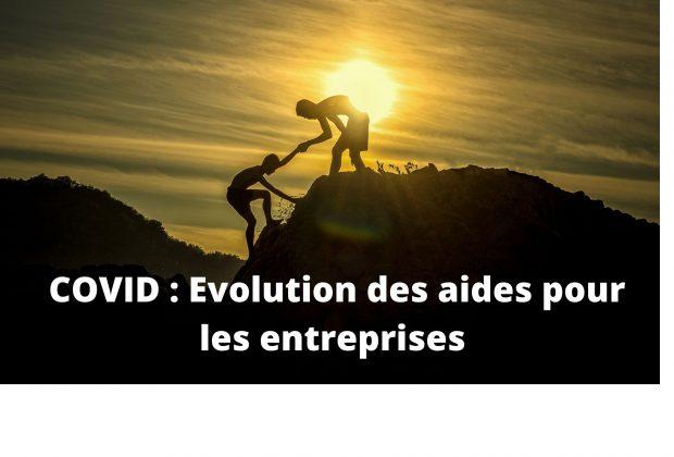 Covid-19 : les aides pour les entreprises évoluent / 08/09/2021